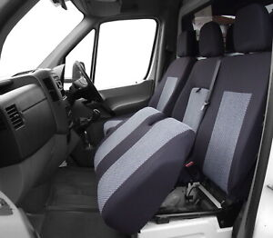 Tailored seat covers for Mercedes Sprinter II 2006 - 2019 2 + 1