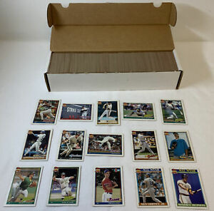 1991 Topps baseball FULL COMPLETE SET #1-792