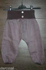 Pantalon sarouel violet     ALSOLETE   taille 4 ans