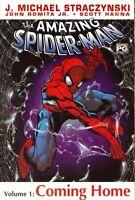 Amazing Spider-Man Vol 1: Coming Home by Straczynski & Jr Jr 1st Print 2002 TPB