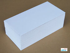 100 #DL DL Size Card Mailer 220x110mm 300GSM Envelope Tough Bag Replacement