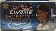 2000 Bowman Chrome Baseball Draft Picks & Prospects Update Box Set