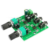 Two Way Stereo Audio Signal Mixer Board For One Way Output Headset Amplifier