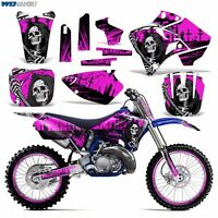 Graphics Kit Yamaha YZ125 YZ250 MX Dirt Bike YZ 125/250 Backgrounds 96-01 REAP P