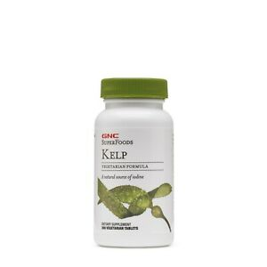 GNC Super Foods Kelp A Natural Source Of Iodine Immunity Booster Strong Body