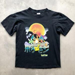 VTG 2000 Pokemon Nintendo Video Game Anime Cartoon Promo YOUTH T Shirt M