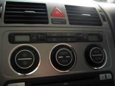 D VW Touran Chrom Ring für Gebläseschalter - Edelstahl poliert