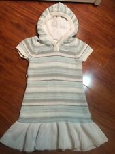 Gymboree Girls Hooded Sweater Dress from Snowflake Unicorn Collection Size 5