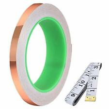Daoki Double Sided Conductive Copper Foil Tape 5mm02inch X 30m98ft 005mm