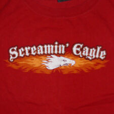 Harley Davidson Screamin Eagle T-Shirt XXL Motorcycle Performance Parts Logo Red