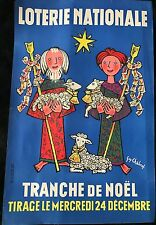 "CHABROL GUY  LOTERIE NATIONALE ""TRANCHE DE NOEL"""