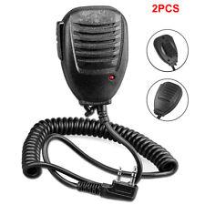 2Pcs Shoulder Handheld For Baofeng Uv5R Speaker Mic Walkie Talkie Radio Hot Sale