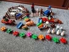 LEGO duplo Bauernhof - Konvolut ca. 50 Teile - viele Tiere, Figuren, Traktor,...
