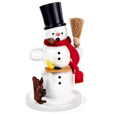 Standing Snowman Incense Burner Smoker Made In Germany