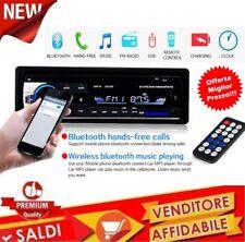 AUTORADIO AUDIO MP3 LETTORE INTEGRATO 12V 1-DIN 4 X 60W FM Ricevitore BLUETOOTH