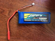 Zippy 5000Mah 7.4V 2S  20-30C LiPo Battery 4.0mm HXT