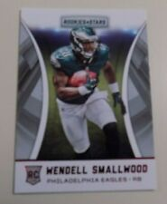 2016 PANINI ROOKIES AND STARS #191 WENDELL SMALLWOOD ROOKIE RED PARALLEL CARD