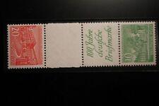 Berlin postfrisch Mi.Nr. SKZ2 geprüft 20 und 10 Pf. Bauten-Zusammendruck 1949