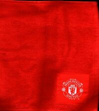 MANCHESTER UNITED FC Official Towel Bar Golf Snooker Hand Towel FREE POST UK