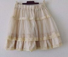 axes femme Tulle Skirts from Japan Sweet Kawai Hime gal Fashion