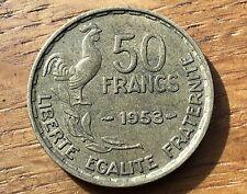 PIECE DE 50 FRANCS GUIRAUD 1953 (105)
