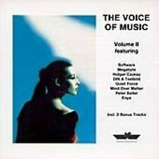 IC-The Voice of Music 2 (1989) Holger Czukay, Mind over Matter, Peter Sei.. [CD]