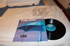 Clay Idols LP with Original Record Sleeve-FALLING DOWN BACKWARDS STEREO