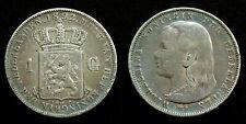 Netherlands - 1 Gulden 1892 patina