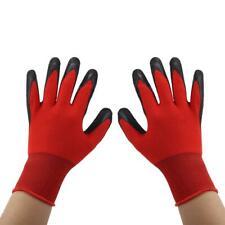 Handschuhe 5 Paar Arbeitshandschuhe Gartenhandschuhe Dornenschutz Rot schwarz