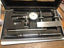 Vintage Tools STARRETT LAST WORD Set  Machinist Indicator Gauge (583)