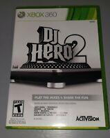 XBOX 360 - DJ HERO 2 Video Game..Activision