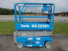 2014 Genie Gs1930 19 Electric Slab Scissor Lift 19ft Platform Lift Man Lift