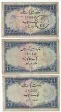 More details for 1958-1960 pakistan 1 rupee | bank notes | pennies2pounds (p3)