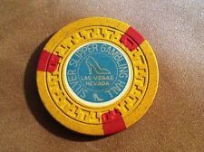 SILVER SLIPPER GAMBLING HALL CASINO LAS VEGAS, NEVADA ~ $5 CHIP ~ FREE SHIPPING