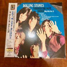 ROLLING STONES  THROUGH THE PAST DARKLY VINYL LP  VOL 2, JAPAN 200 GRAM