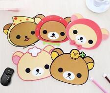 CB117 Korea Stationery Cartoon Cute Animal Slip-resistant Mouse Pad Random 1pc ♫