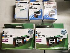 7 PK Dell Series 1-5x Black-2x Tri Color Ink Cartridge-Photo All in One-A920 720
