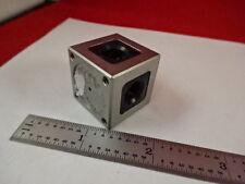 OPTICAL HP CUBE INTERFEROMETER REFLECTOR OPTICS AS IS #AM-19