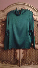 Campus Casuals of California Green Blouse SZ M