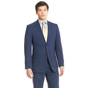 MSRP $450 Lauren Ralph Lauren Men's Navy Suit Separate Jacket Size 44 T/L39.5