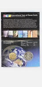 Brand NEW   2008 International Year of Planet Earth Uncirculated RAM 2 coin set,