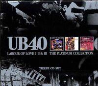 Ub40 - Labour Of Love Volume I/II/III (Platinum Collection) Neuf 3 X CD