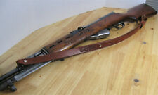 "1"" inch wide Handmade Cowhide Leather Rifle Sling - SKS - Brown"