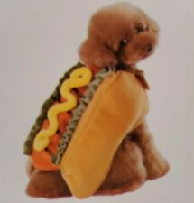 NWT Halloween Hot Dog Costume For Dogs -Size Small (Grammercy Studio)
