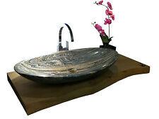 Waschbecken aus Granit, Aufsatzbecken, Model Monaco 80cm, chinese juperana