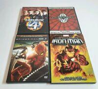 4 Marvel dvd lot