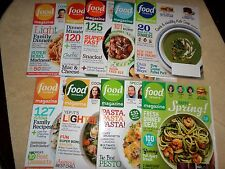 LOT 9 FOOD NETWORK MAGAZINES 2009-2016