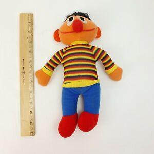 "Vintage Knickerbocker Sesame Street Ernie Plush Doll 11"""