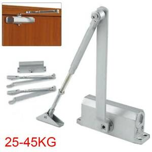 Heavy Duty 25-45KG FIRE RATED DOOR CLOSER Adjustable Self Automatic Closing