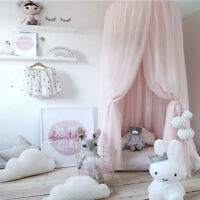 Kid Bedroom Canopy Bedcover Mosquito Net Curtains Bedding Dome Tent Rooms Decor